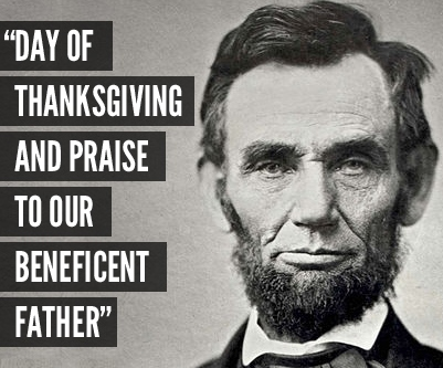 Image result for lincoln thanksgiving