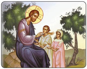 Christ-teaching-children