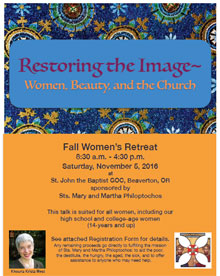 Fall Women's Retreat Ad