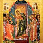The Apostle Thomas Touches God