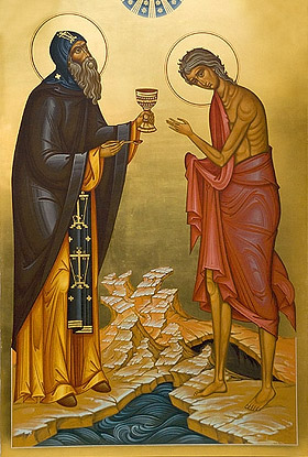 Icon of St. Mary and Zosima