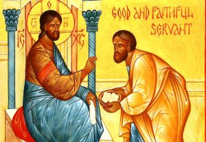 Icon of the Parable of the Talents